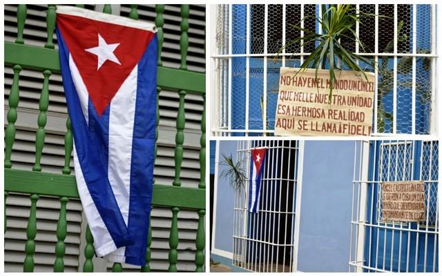 Motivaciones trinitarias en homenaje a Fidel.