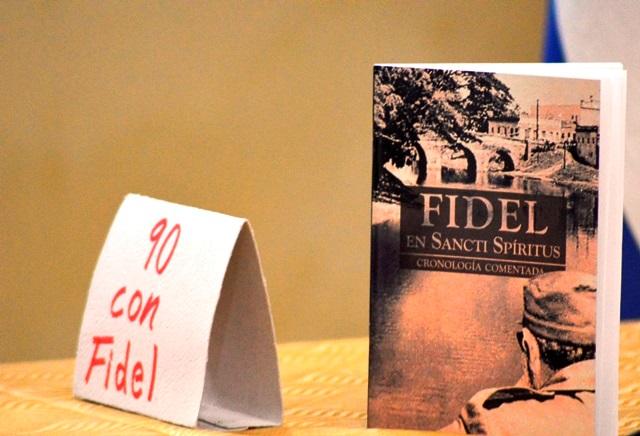 El texto Fidel en Sancti Spíritus engrosará los fondos de la Biblioteca Municipal y distintos centros de documentación del territorio.
