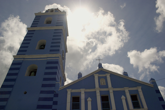 Iglesia Parroquial Mayor, la más antigua de Cuba.
