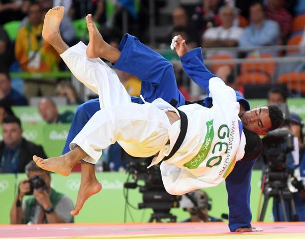 Magdiel Estrada (73 kg) fue eliminado en su segundo combate. (Foto: Ricardo López Hevia)