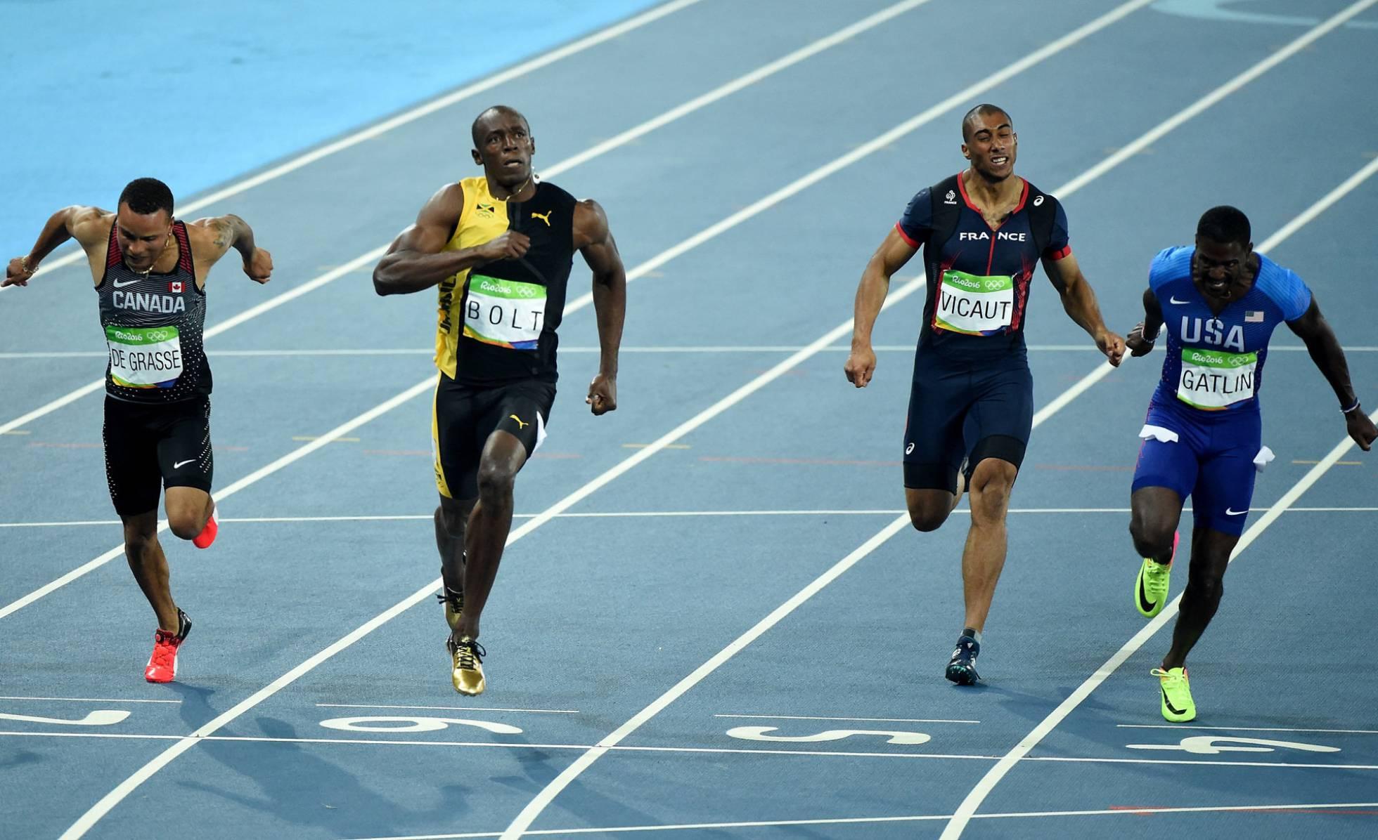 Usain Bolt ganasu tercer oro en los 100 metros. (Fotos: Getty Images)