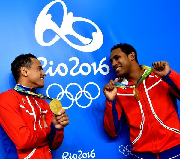 Los boxeadores Robeisy Ramírez y Arlen López ganaron medallas de oro en Río 2016. (Foto: ACN)