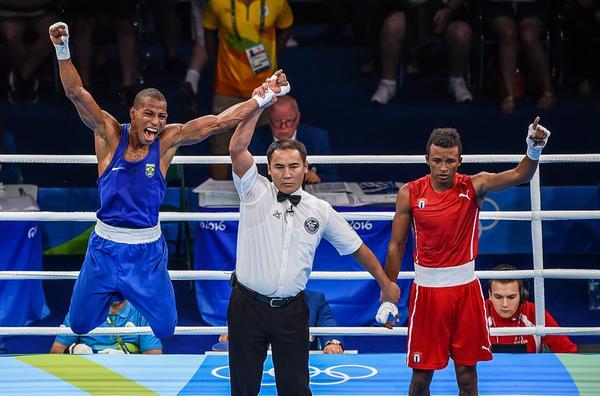 Lázaro Álvarez perdió en combate ante el brasileño Robson Conceicao. (Foto: ACN)