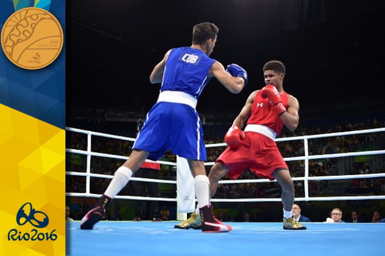 Robeisy Ramírez su segundo título olímpico tras vencer 2-1 al estadounidense Shakur Stevenson. (Foto: PL)