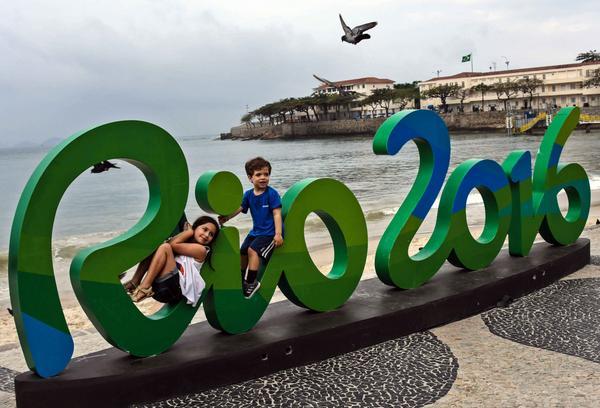 Playa de Copacabana, durante los XXXI Juegos Olímpicos. (Foto: ACN)