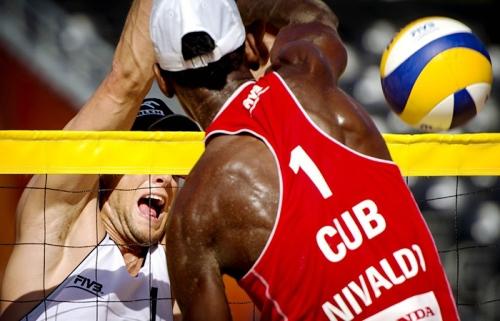 La dupla cubana de voly playero consiguió su segundo éxito consecutivo.