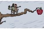 """""""La Ley de Ajuste Cubano sigue en pie"""", aseguró el portavoz del Departamento de Estado. (Caricatura: Osval)"""
