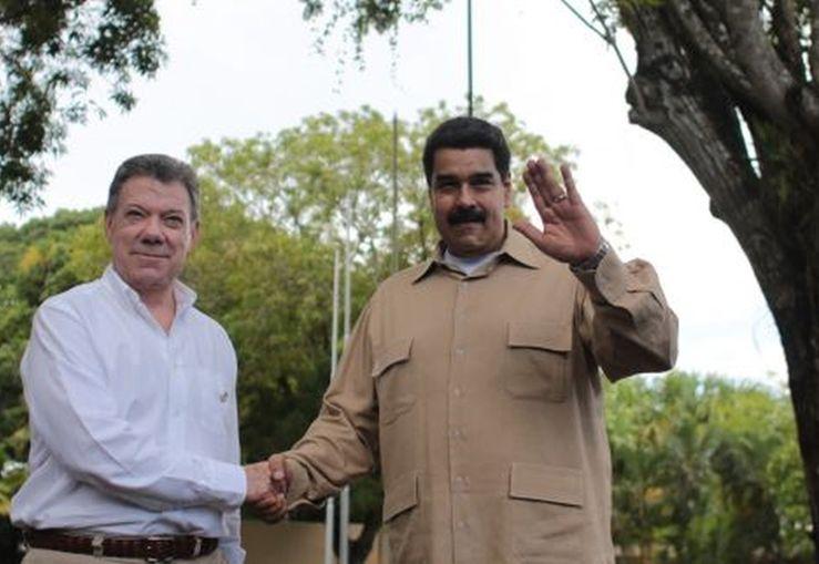 venezuela, colombia, santos, maduro, frontera