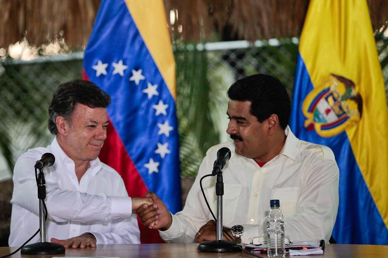 La reunión entre Maduro y Santos será en territorio de Venezuela. (Foto: Archivo)