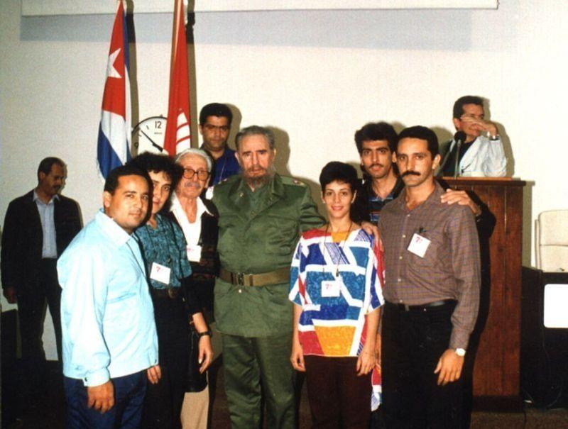 sancti spiritus, cuba, 90 cumpleaños de fidel, fidel castro, upec, periodistas, union de periodistas de cuba