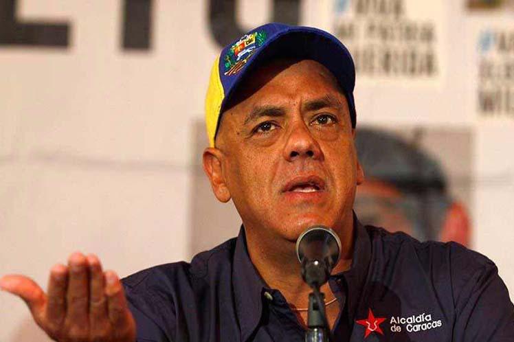 El alcalde de Caracas denunció que la movilización convocada por los opositores para el 1 de septiembre busca generar violencia.