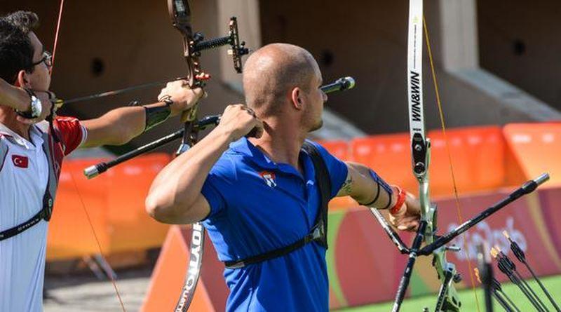 Adrián Puente (C), de Tiro con Arco, primer sancti spiritus, cuba, adrian puentes, tiro con arco, juegos olimpicos de rio de janeiro 2016