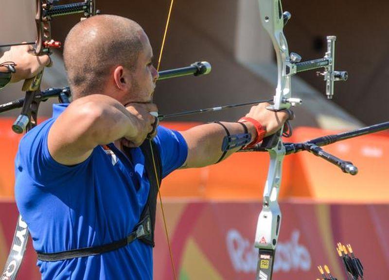 Adrián Puente, de Tiro con Arco, primer atleta cubano en competir en los XXXI Juegos Olímpicos , en el Sambodromo de Rio de Janeiro, en Brasil, el 5 de agosto de 2016.ACN FOTO/Marcelino VÁZQUEZ HERNÁNDEZ