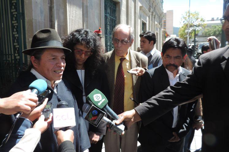 Los representantes de Cuba, Venezuela, Nicaragua y Ecuador ratificaron su solidaridad con el pueblo boliviano. (Foto: PL)
