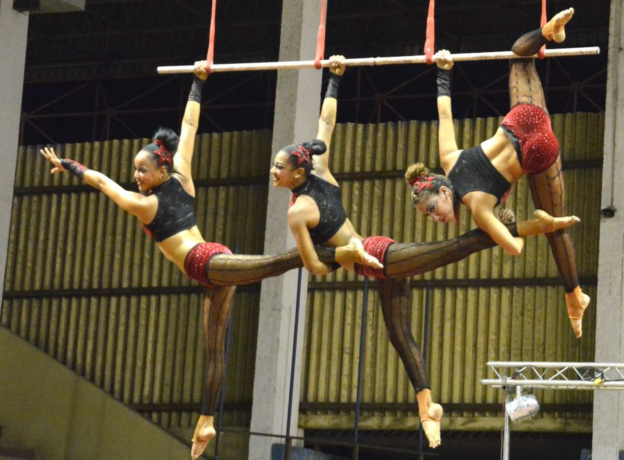 circo en sancti spiritus    foto oscar alfonso