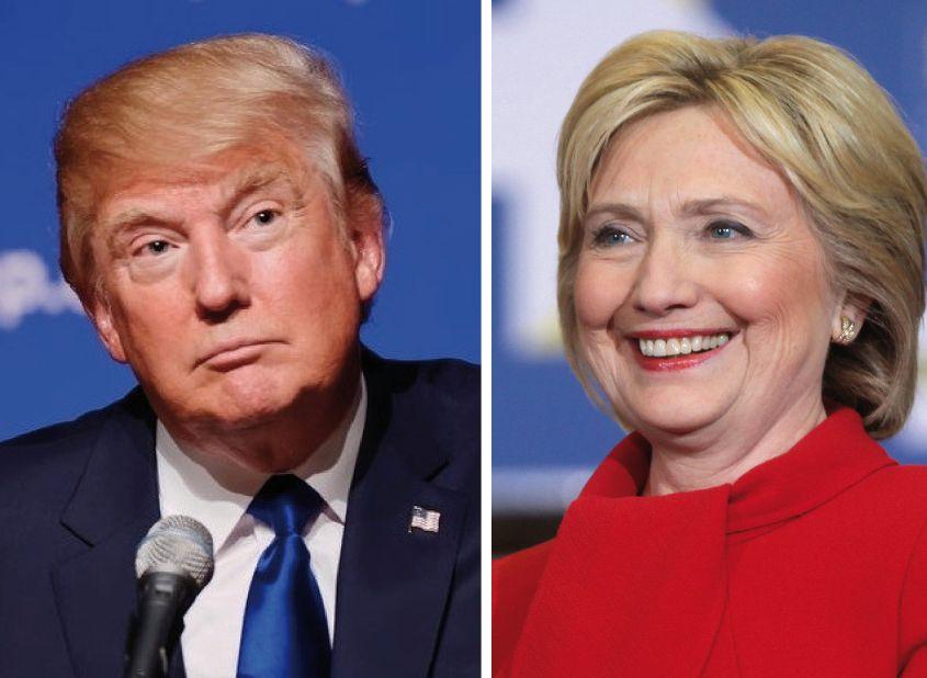 elecciones en estados unidos, donald trump, hillary clinton