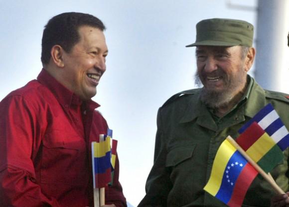Fidel y Chávez son símbolos de nuestro tiempo.