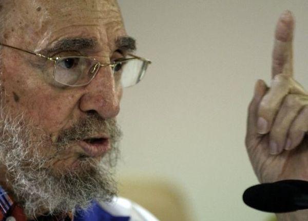 """Fidel agradeció las """"muestras de respeto, los saludos y los obsequios recibido en estos días."""" (Foto: Roberto Chile)"""