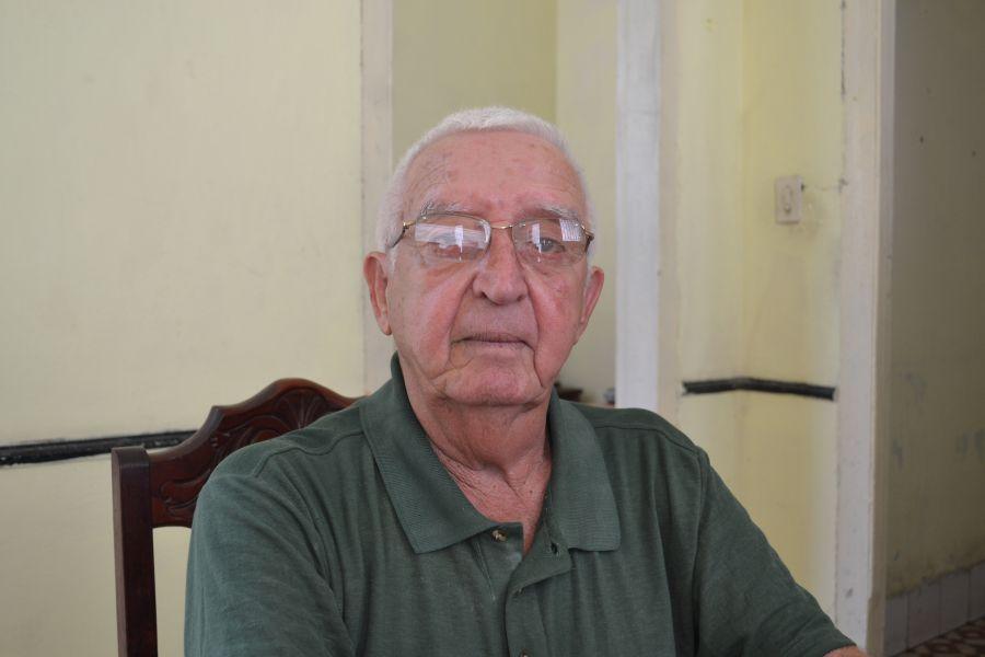 """Fidel Salas: """"De los heridos supervivientes yo fui el más grave"""". (Foto: Cortesía del entervistado)"""