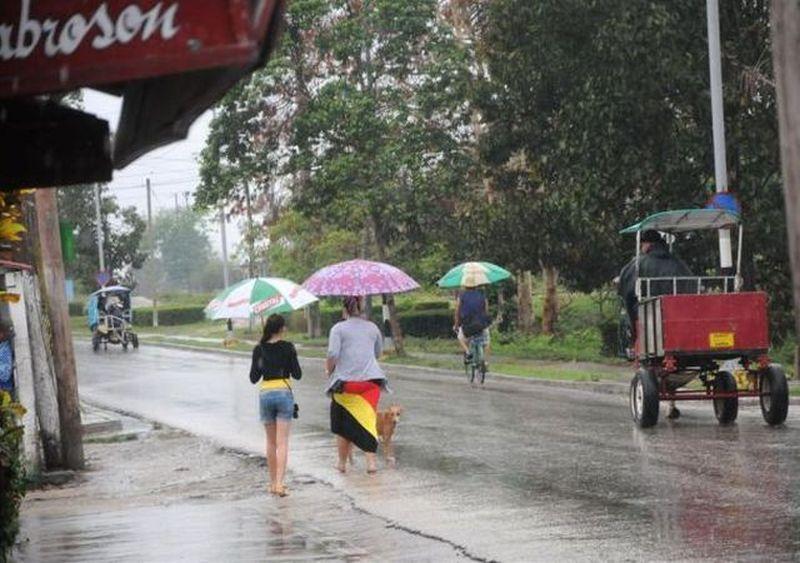 sancti spiritus, lluvias, pronostico del tiempo, recursos hidraulicos