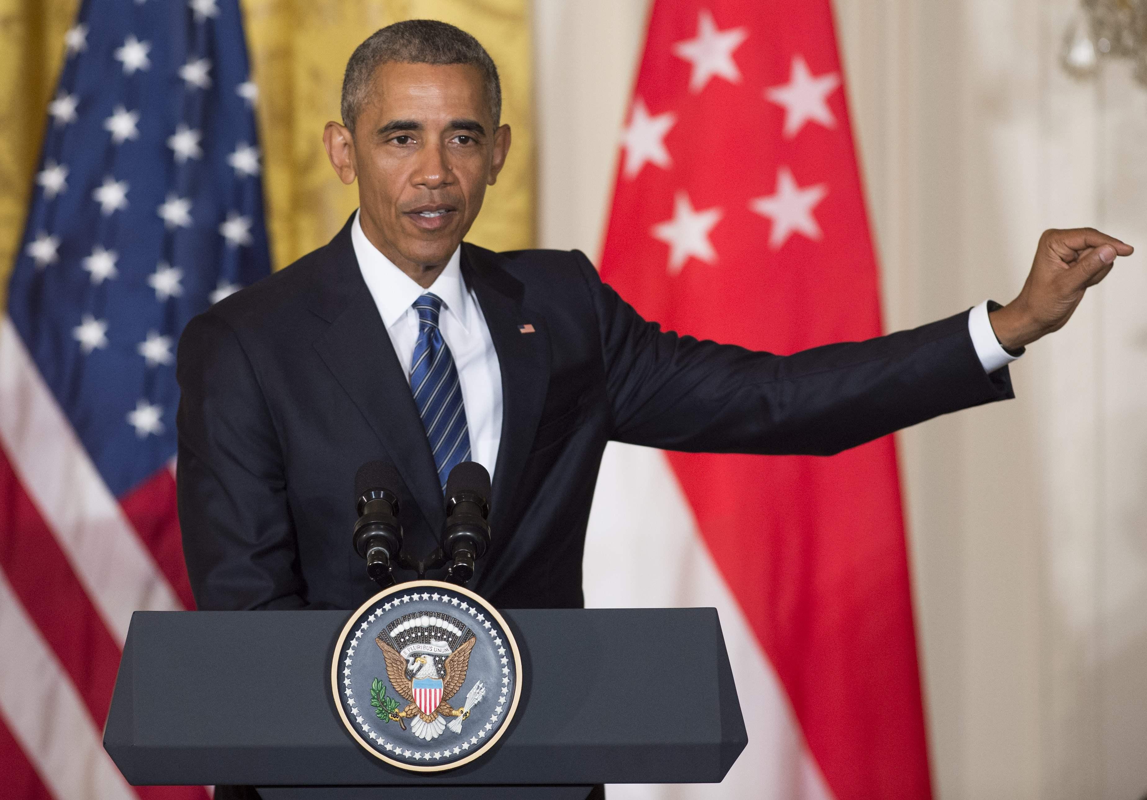 Obama señaló que se había demostrado que Trump estaba muy mal preparado para hacer al trabajo en la Casa Blanca.