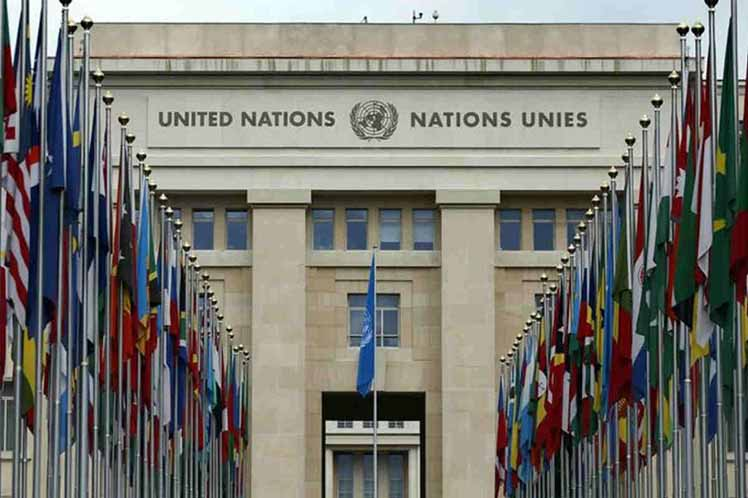 Cuba enfatizó en Ginebra la importancia de la cooperación y la asistencia para la eliminación de los restos explosivos de guerra. (Foto: PL)