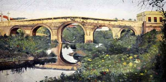 sancti spiritus, puente sobre el rio yayabo, patrimonio sancti spiritus