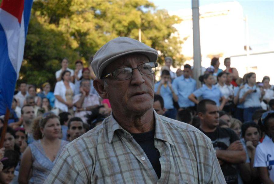 Rafael Daniel es un reportero de armas tomar. (Foto: Vicente Brito / Escambray)