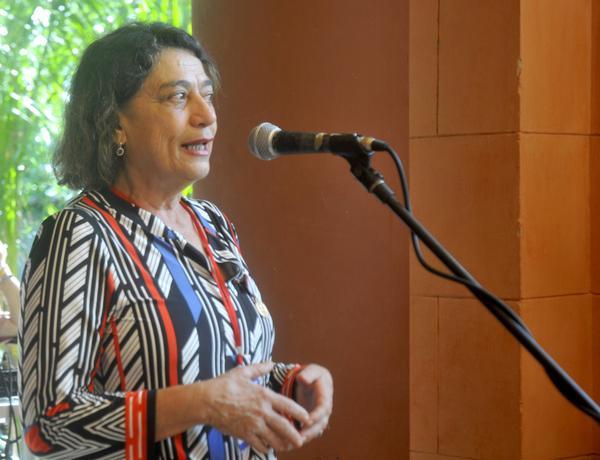 Socorro Gomes asistió al Primer Seminario Internacional Realidades y Desafíos  de la Proclama de América Latina y El Caribe como Zona de Paz. (Foto: ACN)