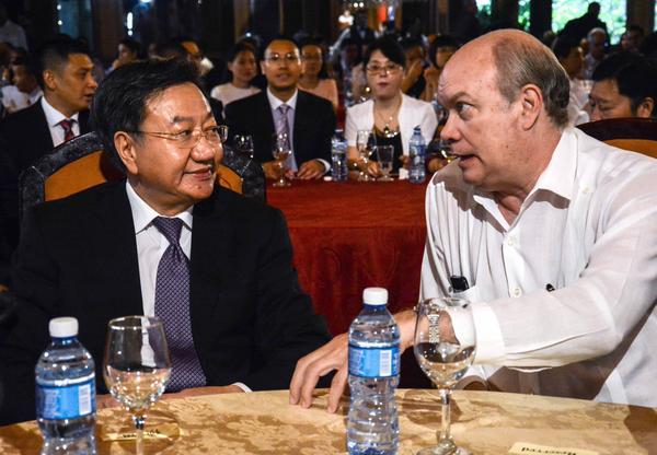 Este domingo sesionó en La Habana la XII Sesión del Comité Empresarial Cuba-China. (Foto: ACN)
