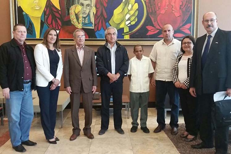 Balaguer encabeza la delegación de La Habana en ELAP 2016, que sesiona en Ecuador. (Foto: PL)