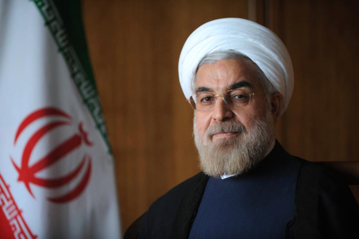 Hassan Rohani, presidente de Irán.