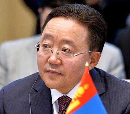 Tsakhiagiin Elbegdorj tendrá conversaciones oficiales con el presidente cubano, Raúl Castro.