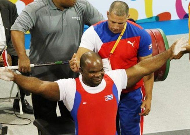 cuba, juegos paralimpicos rio de janeiro 2016, pesas