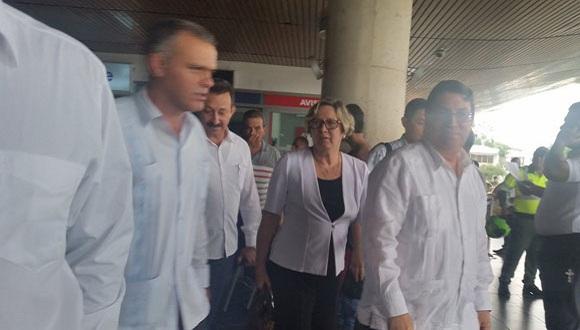 El canciller cubano Bruno Rodríguez Parrilla ya se encuentra en Colombia. (Foto: TelesurTV)