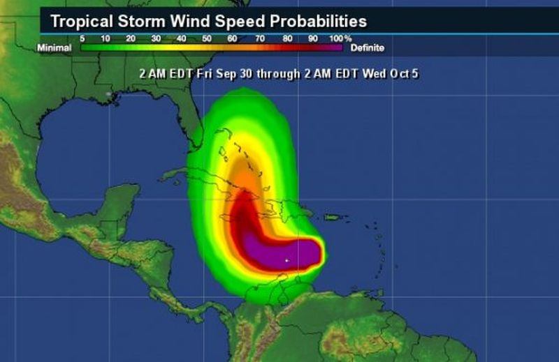huracan, matthew, ciclones, cuba, pronostico del tiempo