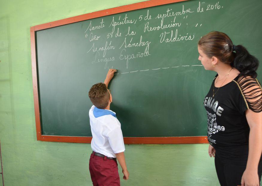sancti spiritus ,  partido comunista de cuba,educacion, economia espirituana, curso escolar
