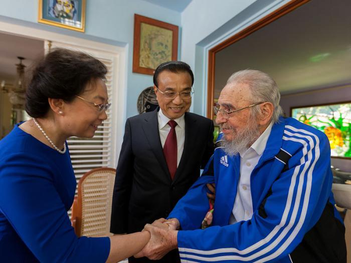 cuba, china, fidel castro, primer ministro de china