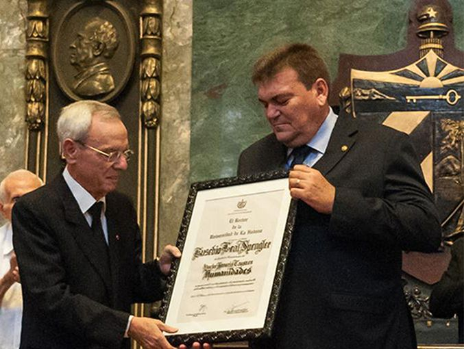 cuba, eusebio leal, historiador de la habana, honoris causa
