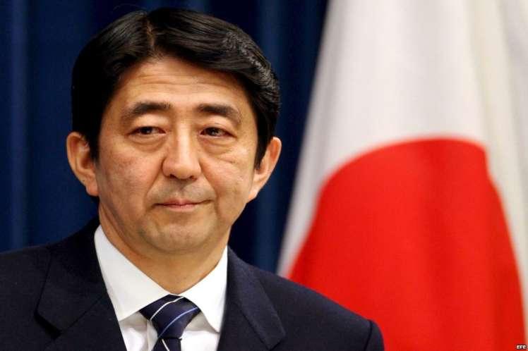 Abe se convertirá en el primer líder japonés que viaja a Cuba. (Foto: PL)