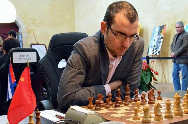 Solo el Gran Maestro Leinier Domínguez hizo los deberes al derrotar a su rival de turno, su homólogo Evgeny Bareev.