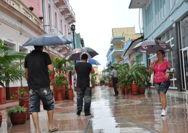 sancti spiritus, lluvias, pronostico del tiempo, meteorologia