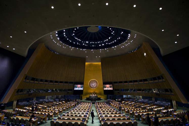Abelardo Moreno intervino en una Reunión de Alto Nivel de la ONU sobre el tema migratorio.