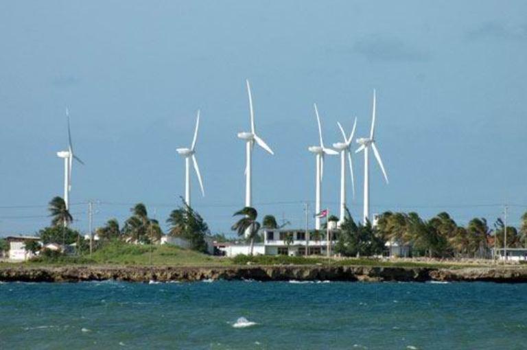 Las fuentes renovables de energía se abren paso en Cuba.