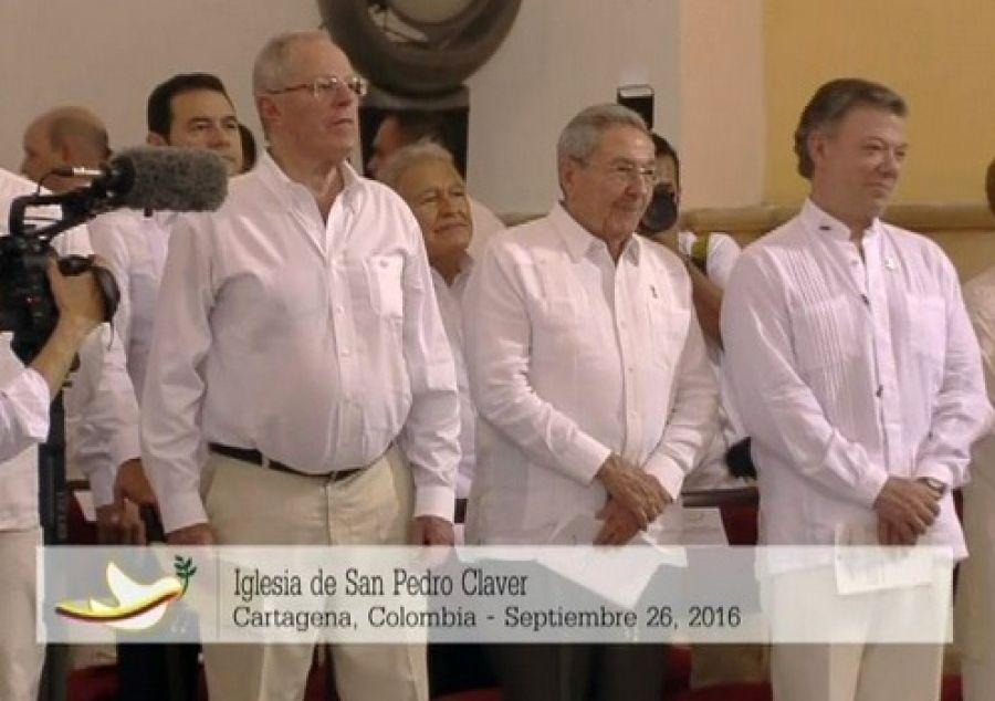 cuba, colombia, colombia paz, raul castro