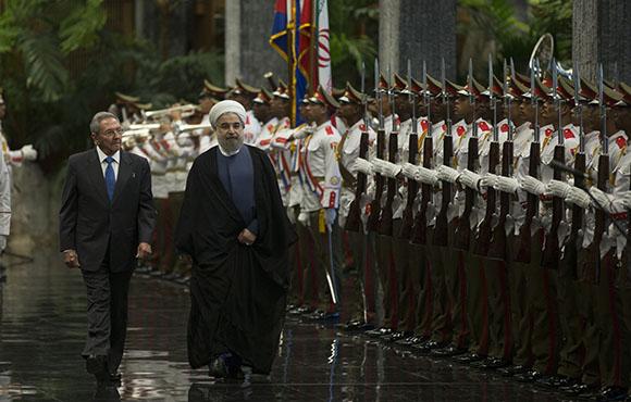 El Dr. Hassan Rouhani, Presidente de la República Islámica de Irán, realiza una visita oficial a Cuba. (Foto: Ismael Francisco/ Cubadebate)