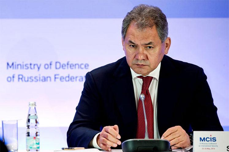 Shoigu recordó que Estados Unidos y algunos de sus aliados se encargaron de destruir un orden mundial justo. (Foto: PL)