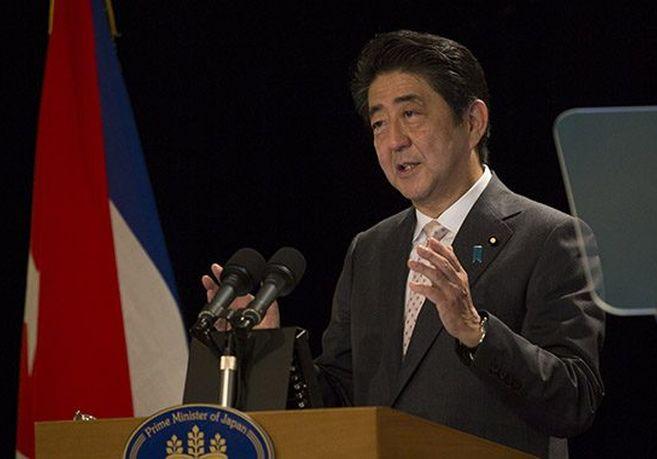 cuba, japon, shinzo abe, primer ministro de japon