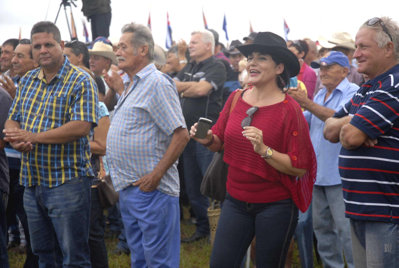 La mujer rural cubana resulta pilar fundamental en el sector agrícola. (Foto: Elizabeth Borrego/ Escambray)