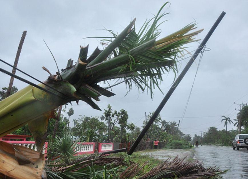 sancti spiritus, huracan mattgew, electricidad, guantanamo, san antonio del sur